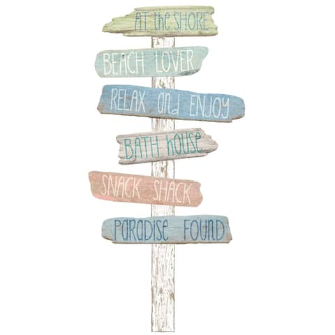 "Brewster DWPK2174 39"" Wide Vinyl Beach Bound Wall Decal Kit -"