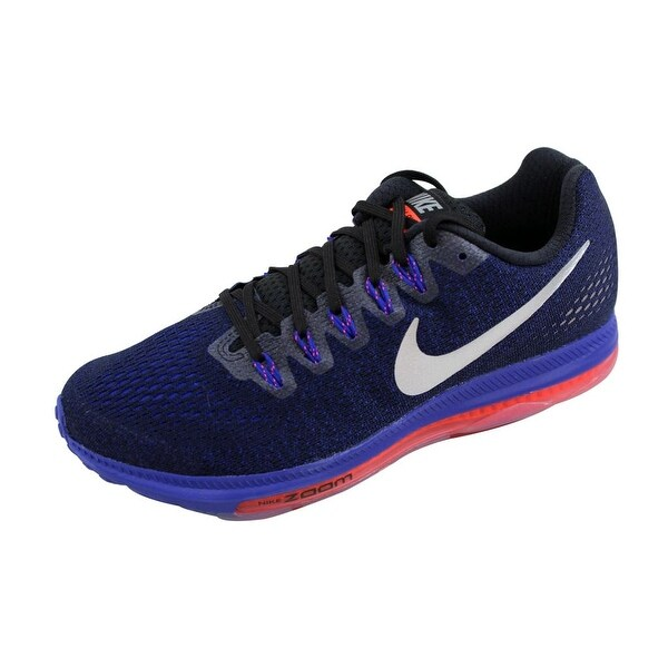 Nike Men's Zoom All Out Low Black/Metallic Silver-Concord 878670-015