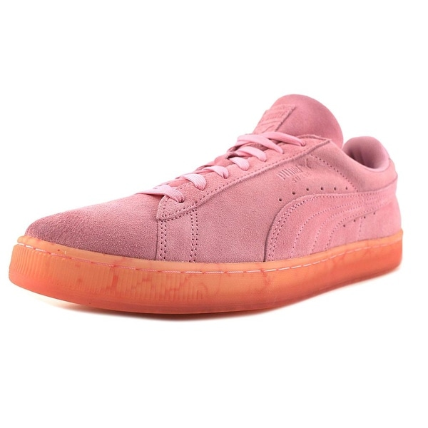 Puma Suede Classic Easter FM Men Round Toe Suede Pink Sneakers