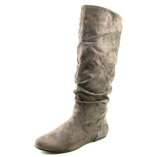 Wanted Toucan Round Toe Canvas Knee High Boot