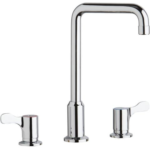 Elkay LKDA2437C 1.5 GPM Deck Mounted Double Handle Kitchen Faucet - Chrome