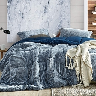 Link to Aww Buddy - Coma Inducer Oversized Comforter - Dark Denim Similar Items in Comforter Sets