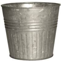 Robert Allen MPT01190 Galvanized Metal Planter, 4""
