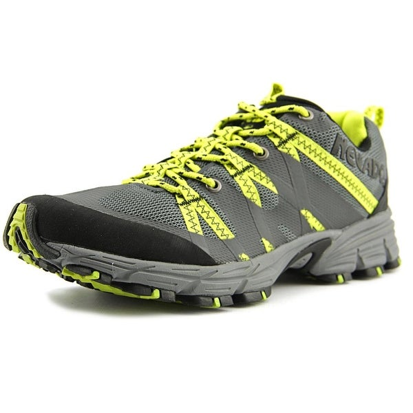 Nevados Compass Low Trail Runner Men Round Toe Synthetic Black Trail Running