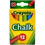Assorted Colors 12/Pkg - Crayola Chalk