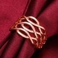 Rose Gold Horizontal Infused Ring - Thumbnail 3