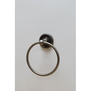 Residential Essentials 2186 6-1/8 Inch Diameter Towel Ring from the Woodrich Col
