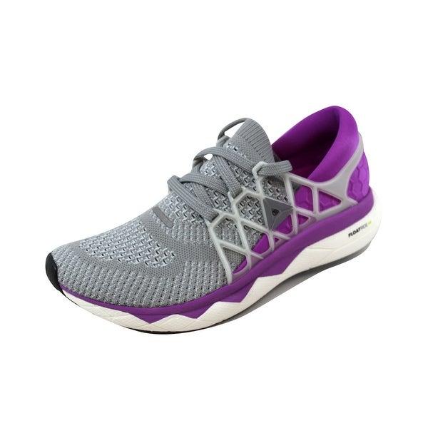 Reebok Women's Floatride Run Utility Grey/Violet-White BS8185 Size 8