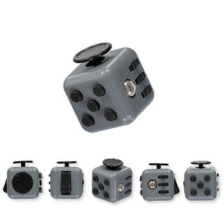 Royal Deluxe Fun Cube Fidget Toy for Children and Adults. Relieves Stress and Anxiety for ADD/ADHD - One size