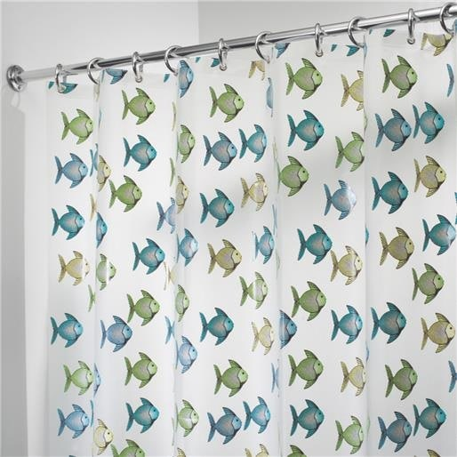 Interdesign Fishy Shower Curtain 27780 Unit: EACH