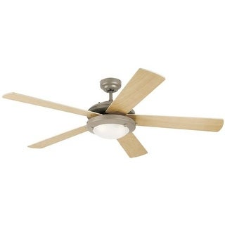 "Westinghouse 7813665 Comet 52"" 5 Blade Hanging Indoor Ceiling Fan with Reversibl"