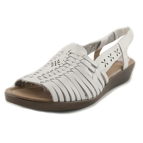 Comfortiva Formosa Women White Sandals