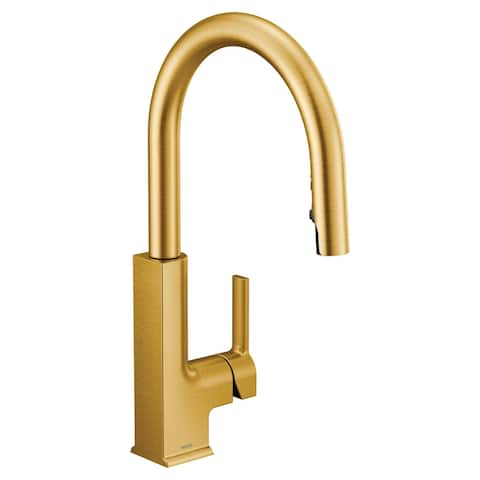 Moen One-Handle Pulldown Kitchen Faucet Brushed Gold (S72308BG)