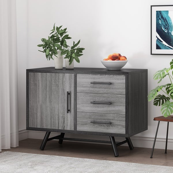 Hulbert Faux Wood Sideboard By Christopher Knight Home Overstock 32123742