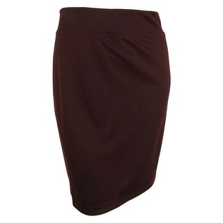 Style & Co. Women's Solid Ponte Knit Pull-On Skirt