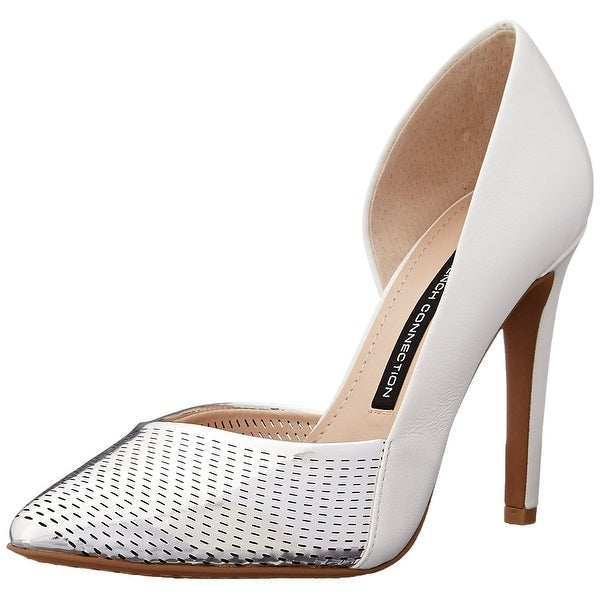 French Connection Women's Mabel Double Toned Dress Pumps