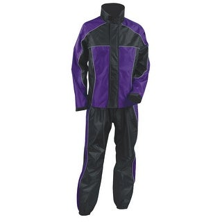 Womens Water Proof Rain Suit Reflective Piping