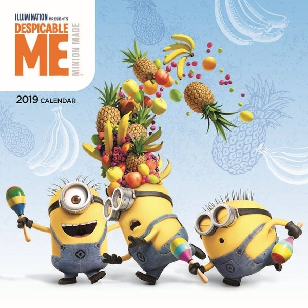 Cool 2019 Despicable Me Mini Wall Calendar Animated Movies By Calendar Ink Caraccident5 Cool Chair Designs And Ideas Caraccident5Info