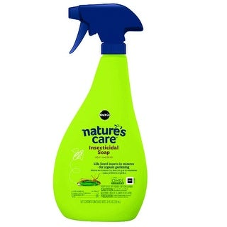 Miracle-Gro 0747210 Nature's Care Insecticidal Soap, 24 oz