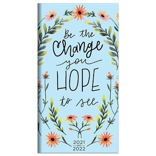 Link to 2021-2022 Be the Change 2-Year Small Monthly Planner - 3.5x6.5 Similar Items in Calendars & Journals