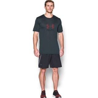 Under Armour Men's Run Icon T-Shirt 1280898 Small Grey