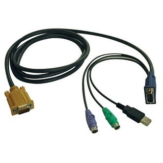 """Tripp Lite P778-006B Tripp Lite KVM Switch USB/PS2 Combo Cable for B020-U08/U16 and B022-U16 KVMs (P778-006)"""