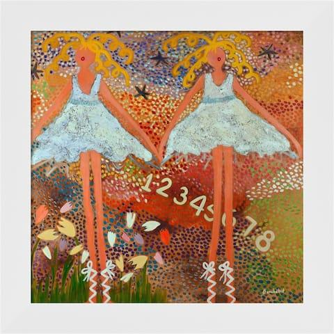 Caroline Benchetrit 'Desert Dance' Framed Art