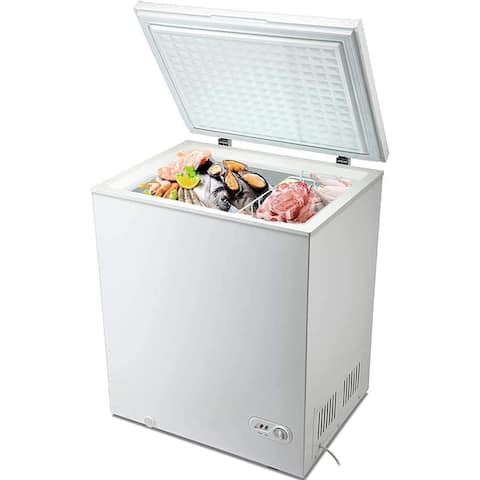 5.0 Cubic Feet Chest Freezer with Removable Basket