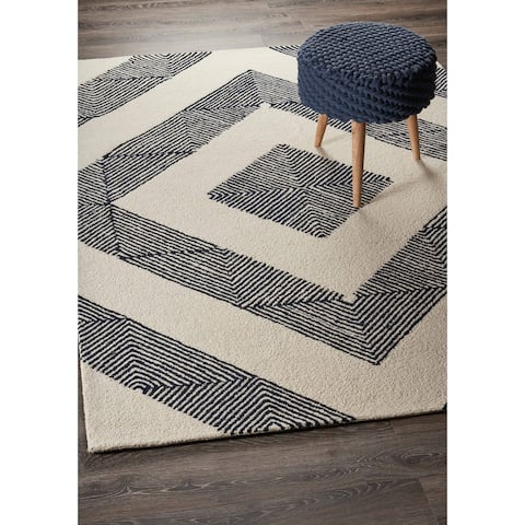 The Curated Nomad Gera Geometric Indoor Area Rug