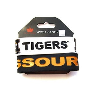 Missouri Tigers Rubber Wrist Band Set