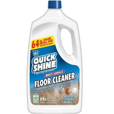 Quick Shine Multi-Surface Floor Cleaner (2 Pack), 64 oz