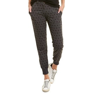 Monrow Woven Cuff Pant