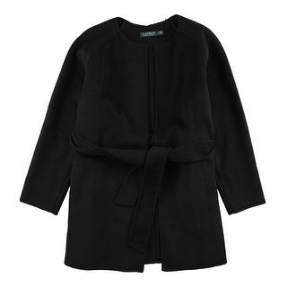 Link to Ralph Lauren Womens Zilga Jacket, black, Large Similar Items in Women's Outerwear