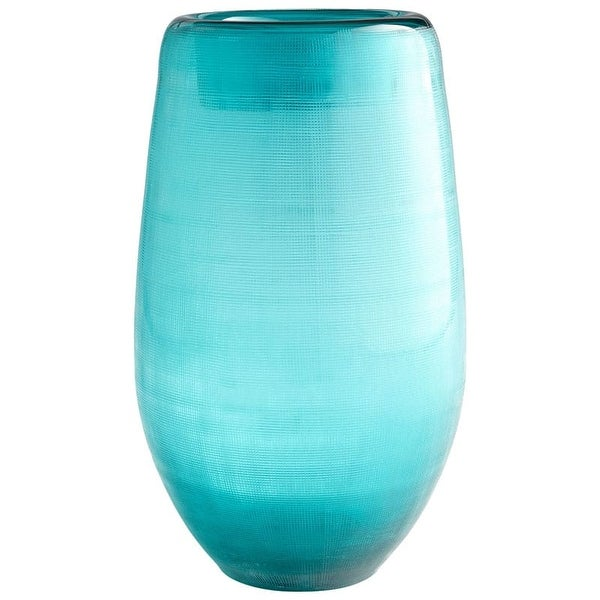 Cyan Design Large On The Water Vase On The Water 13.25 Inch Tall Glass Vase