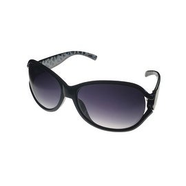 Kenneth Cole Reaction Womens Plastic Sunglass Black, Gradient Lens KC1170 1B - Medium