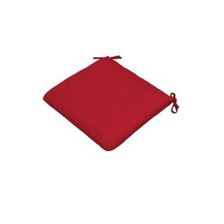 Casual Cushion 308-1427 Large Seat Cushion Pad, Red
