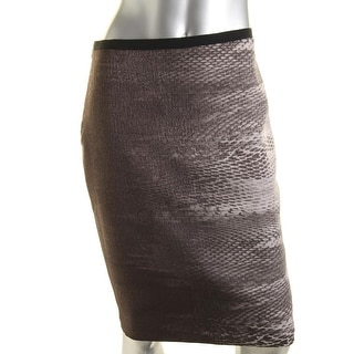 T Tahari Womens Leyla Woven Ombre Pencil Skirt