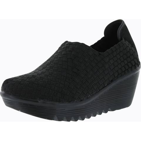 Bernie Mev Womens Gem Wedge Shoes