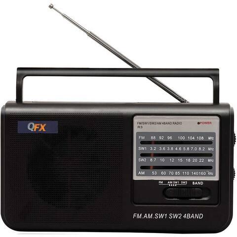 Qfx r3 table radio