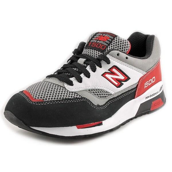 New Balance CM1500 Men Round Toe Suede Red Running Shoe