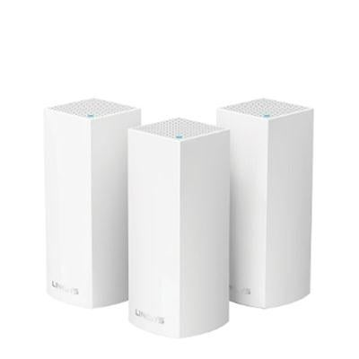 Linksys Velop Tri-Band Whole Home Wi-Fi Mesh System, Ac6600, 3-Pack Router Replacement