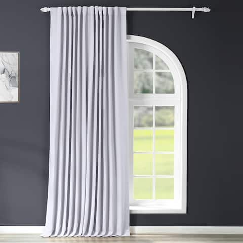 Exclusive Fabrics Extra Wide Thermal Blackout 120-inch Curtain Panel - 100 x 120