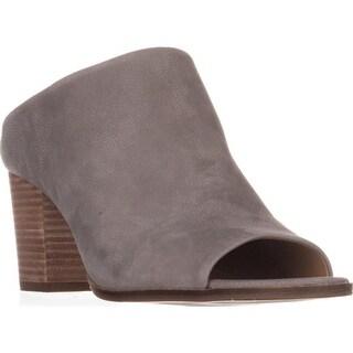 Lucky Brand Organza Mule Heels, Driftwood - 10 us / 40 eu
