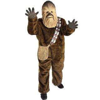 Rubies Deluxe Chewbacca Child Costume - Brown (3 options available)