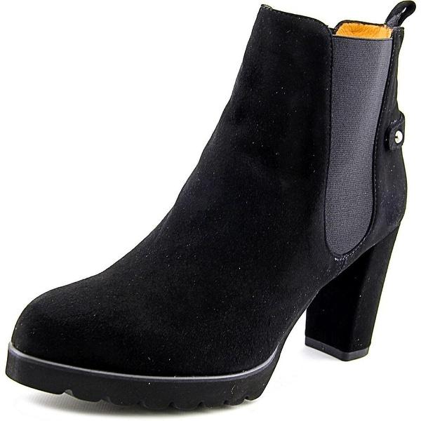 Firenze.Studio Karen Women Round Toe Suede Ankle Boot