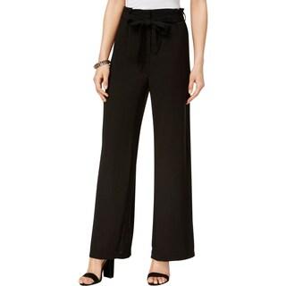 XOXO Womens Juniors Wide Leg Pants Belted Flat Front - 5/6
