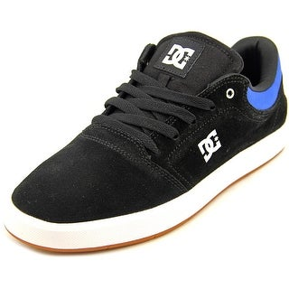 DC Shoes Crisis Round Toe Suede Skate Shoe