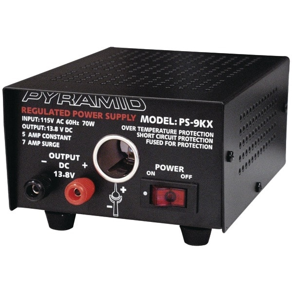 PYRAMID PS9KX Power Supply (70 Watts Input, 5 Amps Constant)