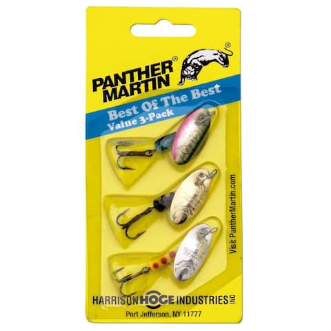 Panther Martin 0126-0716 Best Of The Best Fishing Lure Kit, 1/8 Oz, 3 Pack