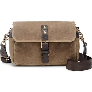 ONA - The Bowery - Camera Messenger Bag - Field Tan, Waxed Canvas and Leather
